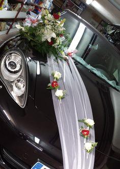 dcoration de voiture mariage de j c juillet 2014 - Decoration Capot Voiture Mariage