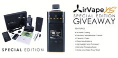 AirVape Xs Special Edition July Giveaway