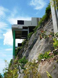 Pretty steep architecture