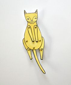kitty cat moveable paper doll