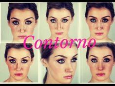 Contorno para CADA tipo de nariz (cirurgia com make ) por Renata Meins - YouTube