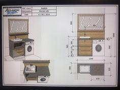 Facts On Incredible Bathroom Renovation Ideas Do It Yourself - Bathroom Floor Plans, Laundry Room Bathroom, Tiny House Bathroom, Bathroom Layout, Bathroom Interior Design, Small Bathroom, Rustic Bathroom Vanities, Bathroom Fixtures, Mini Bad