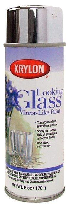 Krylon Looking Glass Mirror Paint 6oz, why can't I find this in stores? eteague  http://media-cache5.pinterest.com/upload/165366617537514988_BCc9rpJ2_f.jpg
