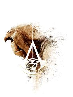 Assassins Creed Origins portrait on Behance - Yıldız Fırsat Assassins Creed Tattoo, Assassins Creed Quotes, Assassins Creed Origins, Assassins Creed Odyssey, Assessin Creed, All Assassin's Creed, Deutsche Girls, Assassin's Creed Wallpaper, Wallpaper Quotes