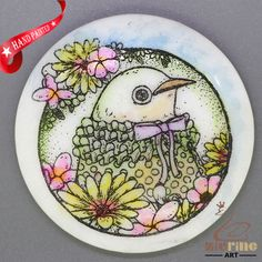 CHARMING FRIDGE MAGNET BIRD WALL DECOR DIY WHITE STONE ZR3000293 #ZL #FridgeMagnet