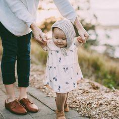 Tippy toe steps  #stylishchildhood
