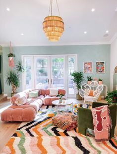 Dream Home Design, Home Interior Design, Deco Studio, Colourful Living Room, Colourful Home, Colourful Bedroom, Funky Bedroom, Colorful Bedding, Colorful Interiors