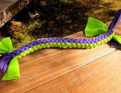 JUMBO Durable Fleece Box Knot Dog Tug Toy, Etsy, $12.00
