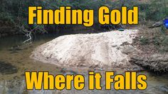 Where the Gold Hides in Creeks - Gravels and Inside Bends Gold Sluice Box, Gold Mining Equipment, Gold Deposit, Garrett Metal Detectors, Magnet Fishing, Panning For Gold, Gold Prospecting, Rock Hunting, Metal Detecting