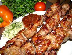 Мариновку шашлыка из говяжьей вырезки и из свинной вырезки