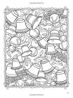 Creative Haven ChristmasScapes Coloring Book (Creative Haven Coloring Books) Christmas Coloring Pages, Coloring Book Pages, Coloring Pages For Kids, Coloring Sheets, Christmas Colors, Christmas Art, Creative Haven Coloring Books, Free Adult Coloring, Mandala Coloring
