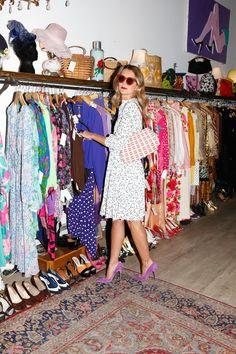Natalie Joos Take on Vintage Style - Fall 2012 Vintage Trends - ELLE