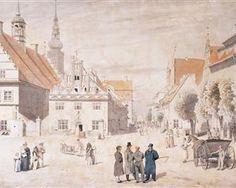 Greifswald market - Caspar David Friedrich