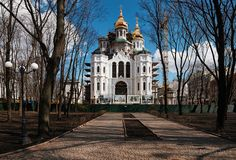 Church of the Holy Myrrh-bearers. Kharkov. Ukraine