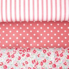 Sevenberry Ditsy Pink Fabric Pack  �9.75 http://www.thehomemakery.co.uk/fabric/fabric-packs/sevenberry-ditsy-pink-fabric-pack