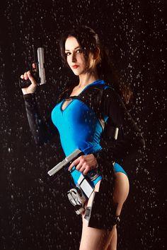 Lara Croft  by Liza Novikova by Lika-tyan