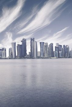 Doha Skyline, Qatar Take me with you :) I'm so excited !