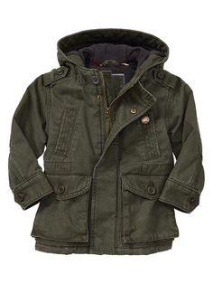 Twill pocket jacket Product Image