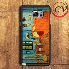 Van Gaugh Bed Room Samsung Galaxy Note 5 Case