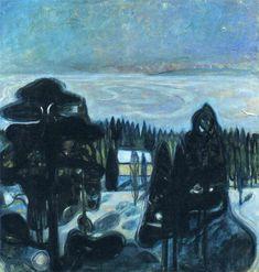 Edvard Munch, White Night