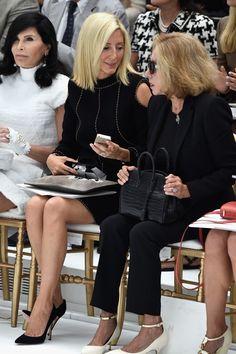 Princess Marie Chantal Photos: Front Row at Chanel