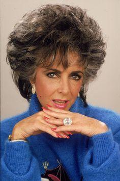 """Big girls need big diamonds"" Elizabeth Taylor."
