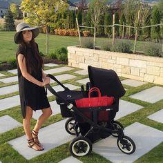 Pink Peonies. Rachel Parcell. Black dress. #familystyle