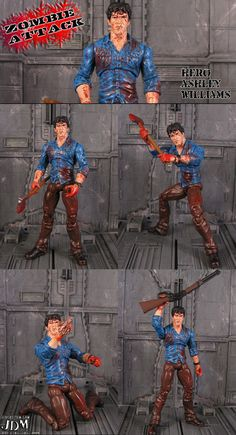 Ash custom action figure - The Evil Dead - John Mallamas