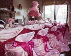 Pinkalicious Table Setting