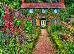 English Cottage Garden, gardening, pretty was the first word that came to mind
