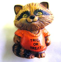 1982 Hallmark Shirt Tales Rick Raccoon Halloween by parkledge, $10.00