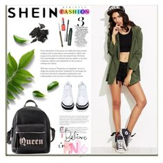 """SheIn"" by lejlasaric ❤ liked on Polyvore featuring Charlotte Russe, STELLA McCARTNEY and Clinique"
