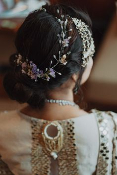 Intimate Wedding Planned By The Bride's Mother With Just The Right Amount Of Bling! Indian Wedding Planning, Wedding Planning Websites, Indian Weddings, Real Weddings, Wedding Day, Wedding Album, Wedding Attire, Indian Bridal Hairstyles, Bridal Makeup