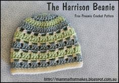 Mamma That Makes: The Harrison Beanie + The 2015 Itty Bitty Hat Drive