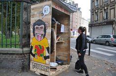 Give-box du Havre Social Entrepreneurship, Boy Scouts, Fundraising, Innovation, Urban, Minimalism, Recycling, Community, Inspiration
