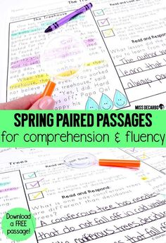 44 paired passages for reading comprehension and fluency! Integrate science and social studies into your literacy block with these text evidence reading passages. Grab a FREE passage in the Preview Download!