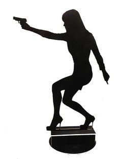 bond girl silhouettes - Google Search