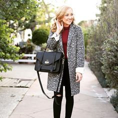 Spotted! The lovely @hannahhagler styling up this chic leopard print coat, perfect for keeping stylish in winter time! ❄❄❄ Get yours today for £44.25 when you search item code: 98524413 at dorothyperkins.com  #DorothyPerkins #FBloggers #Fashion#Winter #DreamSparkleShine