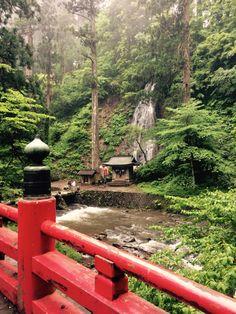 祓川、須賀の滝(出羽三山神社)Haraigawa,Waterfall of Suga,Dewasanzan,Tsuruoka,Japan