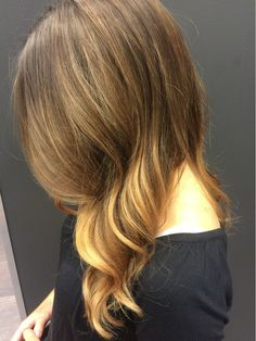 Balayage copper brown - Colors of Wonderland by Alice