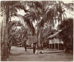 Dorpsgezicht in India, Samuel Bourne, Charles Shepherd, 1862 - 1874