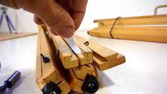 Making the tripod sliding dovetail