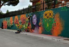 Caktus e Maria - Italian Street Artists - San Nicandro (IT) - 09/2015 -  \*/  #caktusmaria #streetart #italy