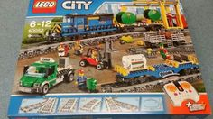 Lego city cargo #train #60052 #brand new boxed ,  View more on the LINK: 	http://www.zeppy.io/product/gb/2/172405994360/