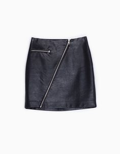 At Stradivarius you'll find 1 Leather look skirt with zip for woman for just 7995 Hungary . Visit now to discover this and more SKIRTS.