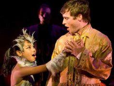 "Nikki Castillo and Bobby Steggert in ""The Nightingale' at La Jolla Playhouse."