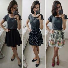 Olá!!! Eu gosto muito dessa ideia de muitos looks com uma mesma peça de roupa, é a vida real, não é mesmo?! Semana passada eu postei no Instagram (se ainda não segue, clicaAQUIpar…