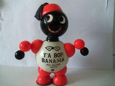 Celluloid Y A Bon Banania Jouet Publicitaire Ancien | eBay