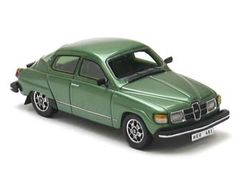 This Saab 96 (1979) Resin Model Car is Metallic Green. It is made by Neo and is 1:43 scale (approx. 9cm / 3.5in long).  ...