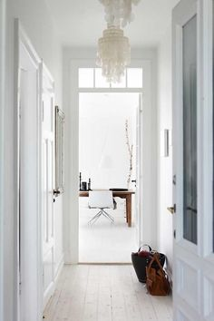 white life ©: Danish interior - modern, attractive and with a touch of purism